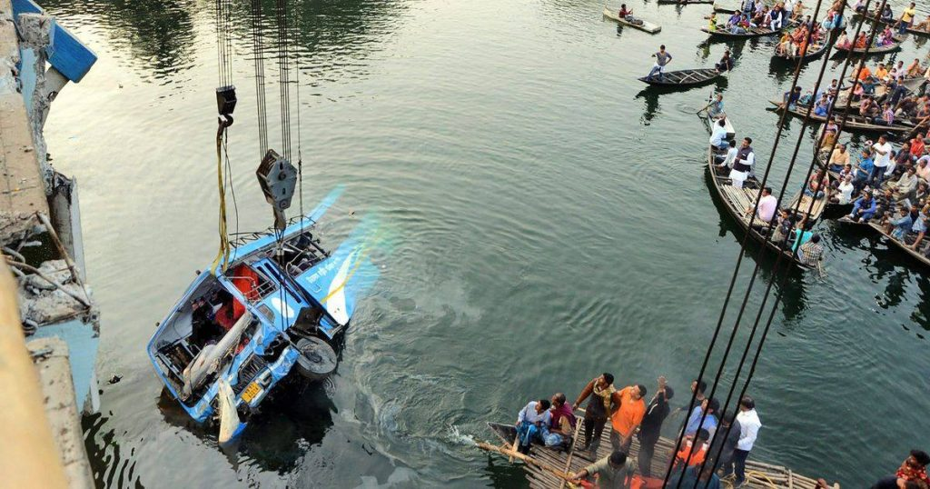 Death toll in India's bus accident rises to 45