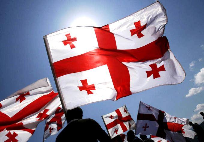 Gürcüstan dövlət bayrağı günü ilə əlaqədar Parlamentdə qəbul keçiriləcək