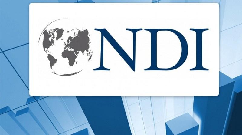 NDI მედიას კვლევის პოლიტიკურ ნაწილს წარუდგენს
