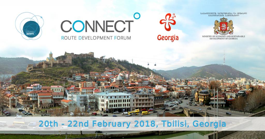 В Тбилиси пройдет Европейский авиационный форум - CONNECT 2018