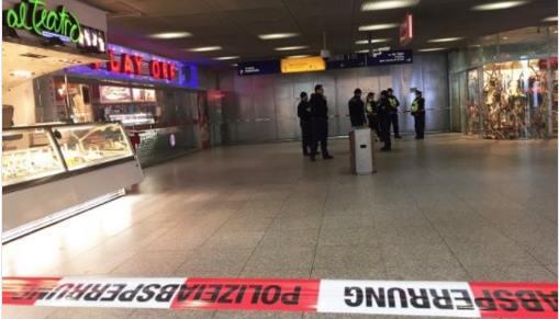 ბერლინში, Ostbahnhof-ის რკინიგზის სადგურზე ევაკუაცია გამოცხადდა
