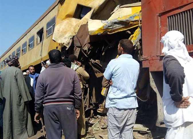 ეგვიპტეში სარკინიგზო ავარიას 10 ადამიანი ემსხვერპლა