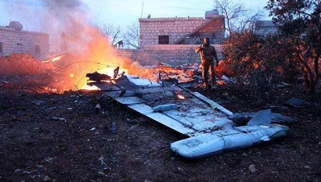 Россия осуществила авиаудар в сирийской провинции Идлиб