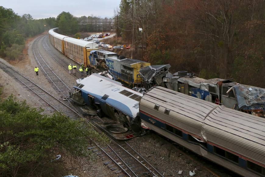 Հարավային Կարոլինայում գնացքի վթարը հավանաբար տեղի է ունեցել  գնացքներից մեկի սխալ մաներվի պատճառով
