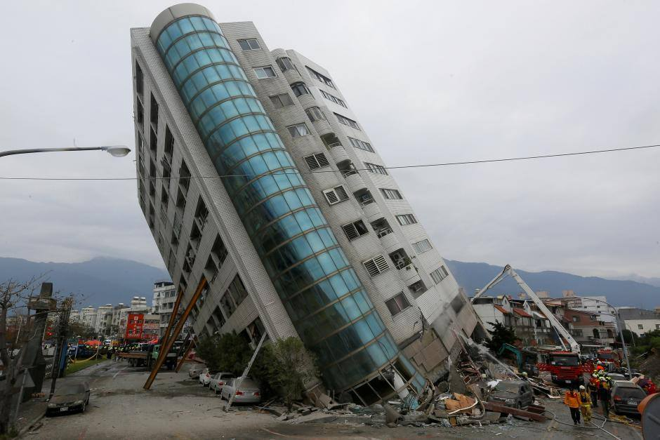 ტაივანში მიწისძვრის შედეგად გარდაცვლილთა რაოდენობა ათამდე გაიზარდა