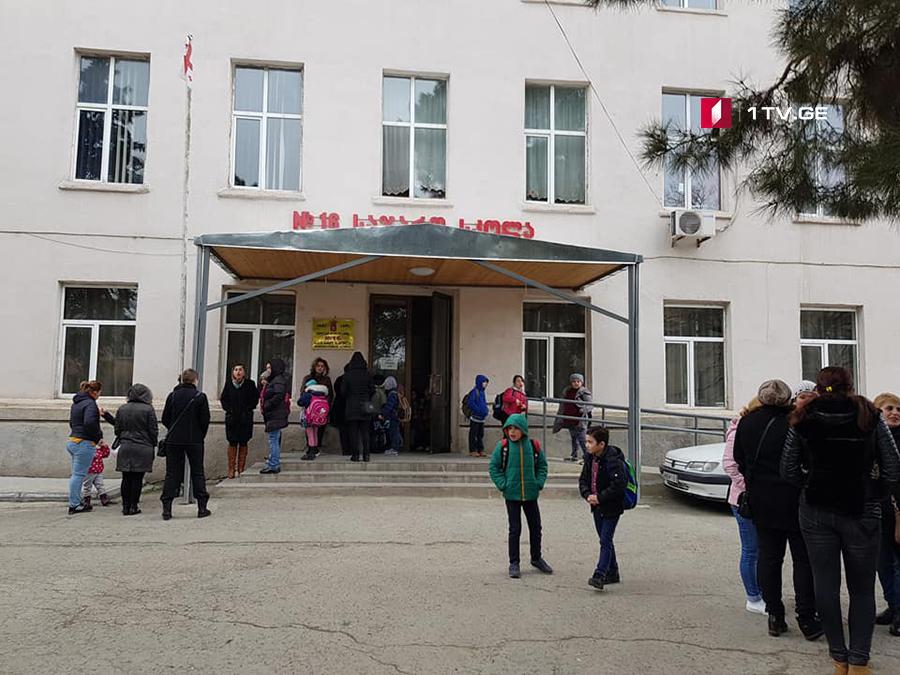 В школе №16 города Рустави отравились ученики
