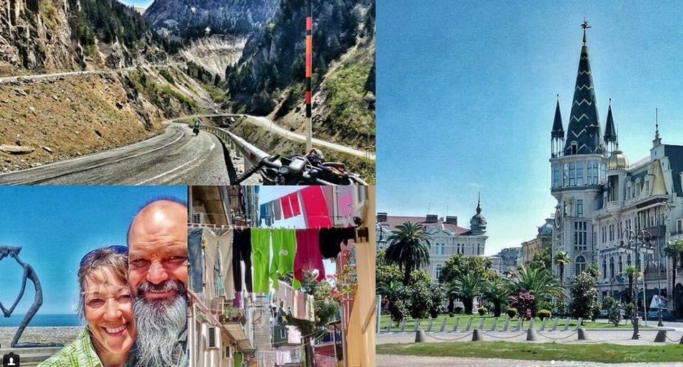 შვეიცარიელი სპორტსმენის მამა სამხრეთ კორეაში ველოსიპედით საქართველოს გავლით ჩავიდა