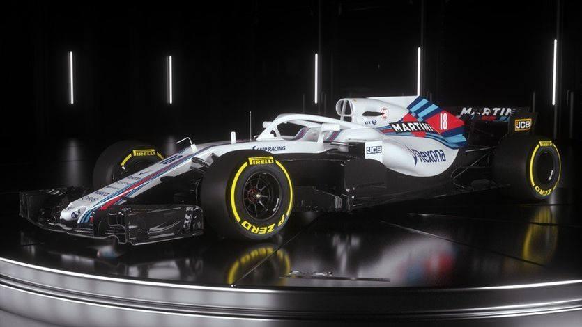 """""""Уильямс"""" представила новый болид Формулы 1"""