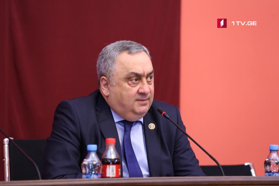 Звиад Квачантирадзе - На встрече «Грузинской мечты» говорили и о кандидате в президенты