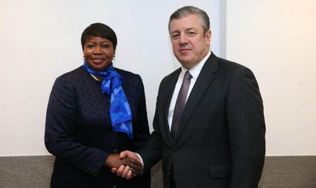International Criminal Court's Chief Prosecutor Praises Cooperation in August 2008 War Investigation Process
