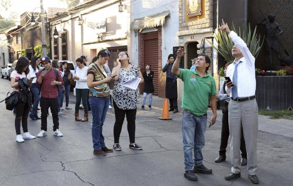 7.2 მაგნიტუდის მიწისძვრას მექსიკაში სულ მცირე ორი ადამიანი ემსხვერპლა