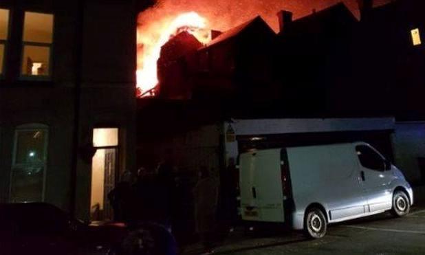 ინგლისის ქალაქ ლესტერში ძლიერი აფეთქება მოხდა
