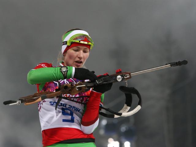 Биатлон: Женская сборная Беларуси выиграла эстафету