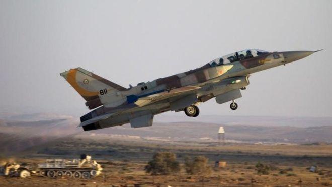 სირიაში ისრაელის სამხედრო თვითმფრინავი ჩამოაგდეს