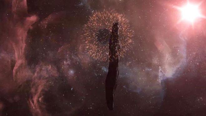 მზის სისტემაში შემოჭრამდე, ასტეროიდი ოუმუამუა რაღაც იდუმალს შეეჯახა - ახალი კვლევა