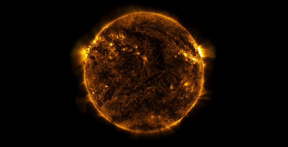 საუკუნის შუა პერიოდში, მზის სიკაშკაშე ოდნავ შემცირდება