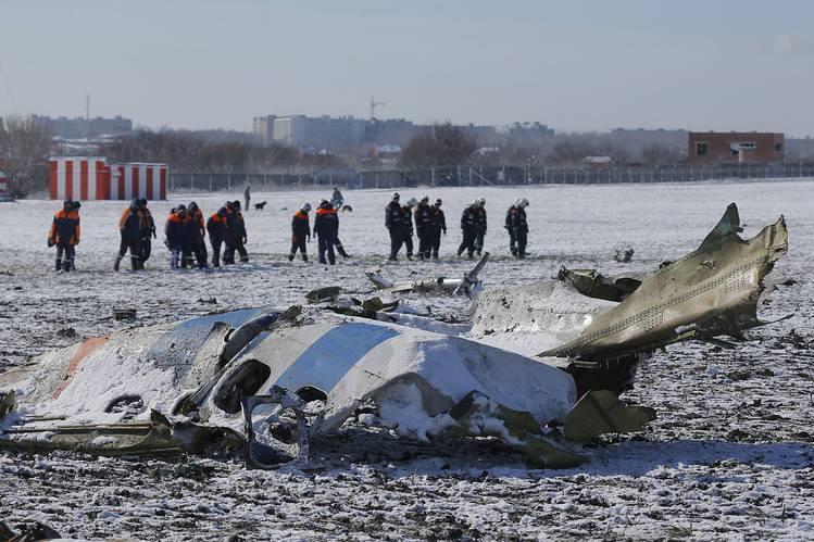 რუსეთში ჩამოვარდნილი თვითმფრინავის ყველა მგზავრი დაიღუპა