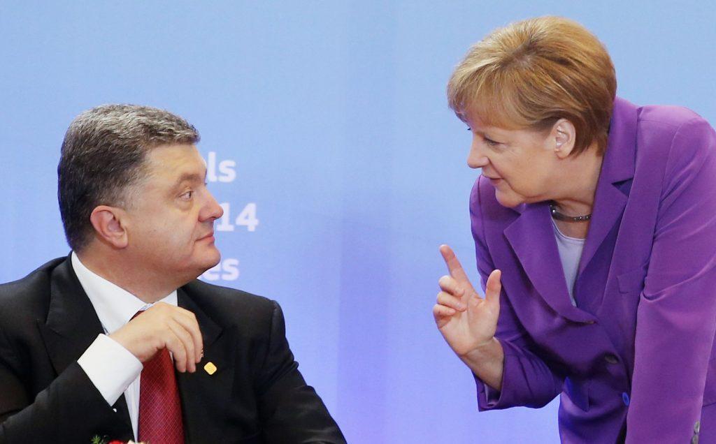 Петр Порошенко на следующей неделе может провести переговоры с канцлером Германии Ангелой Меркель