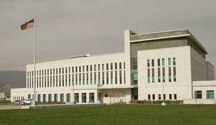 ԱՄՆ-ի դեսպանատունը դիմում է Վրաստանի քաղաքացիներին