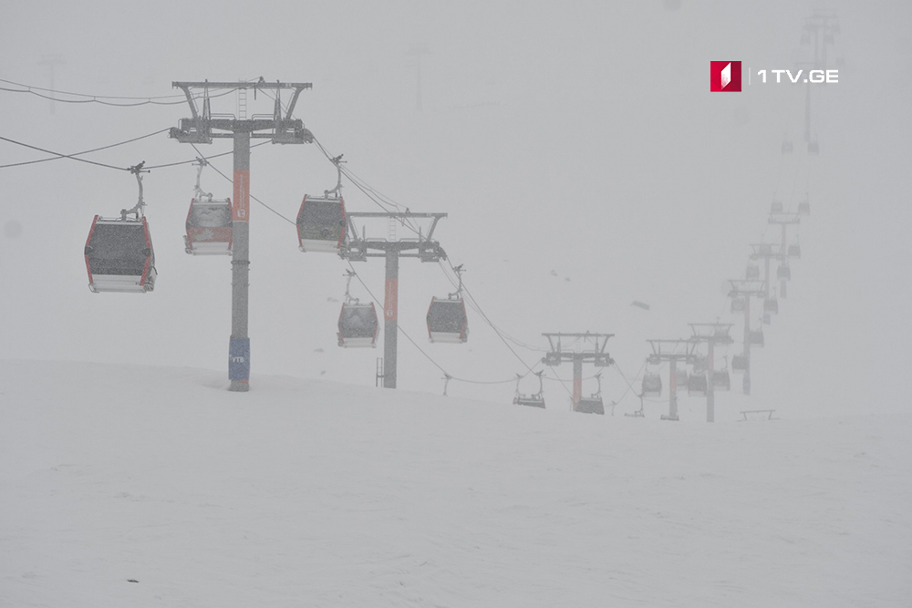 Water supply problems in mountain resorts of Georgia