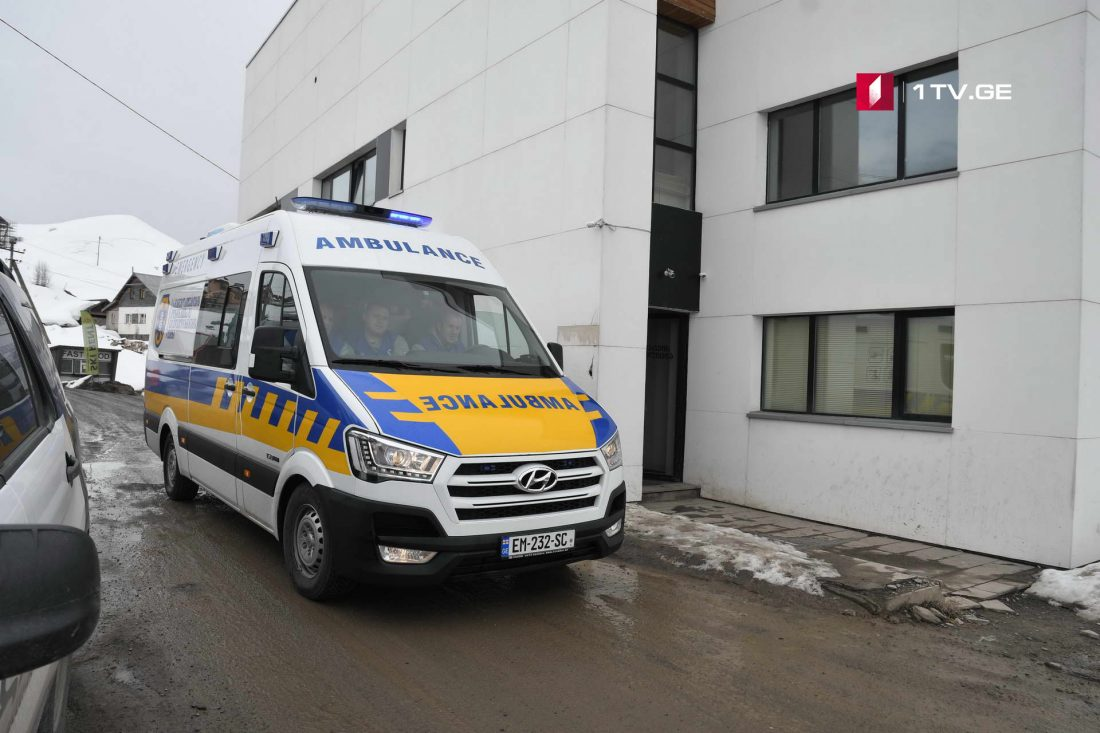 გუდაურში დაშავებულები საავადმყოფოში გადაყავთ