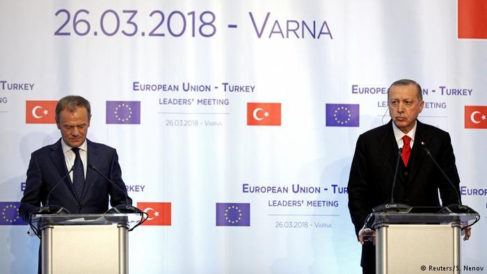 ვარნაში გამართულ სამიტზე ევროკავშირმა და თურქეთმა კომპრომისს ვერ მიაღწიეს