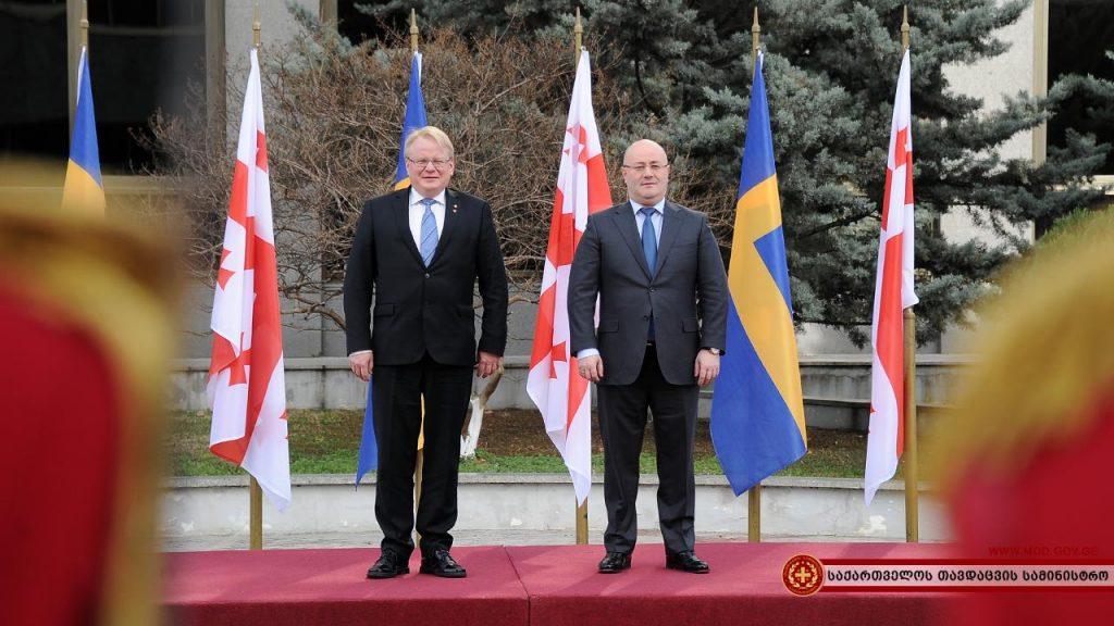არჩილ ტატუნაშვილის ტრაგიკულად გარდაცვალების გამო შვედეთის თავდაცვის მინისტრი შეშფოთებას გამოთქვამს
