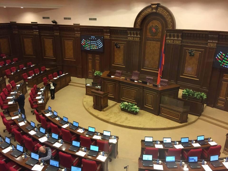Հայաստանի Ազգային Ժողովում պատրաստվում են նախագահական ընտրություններին