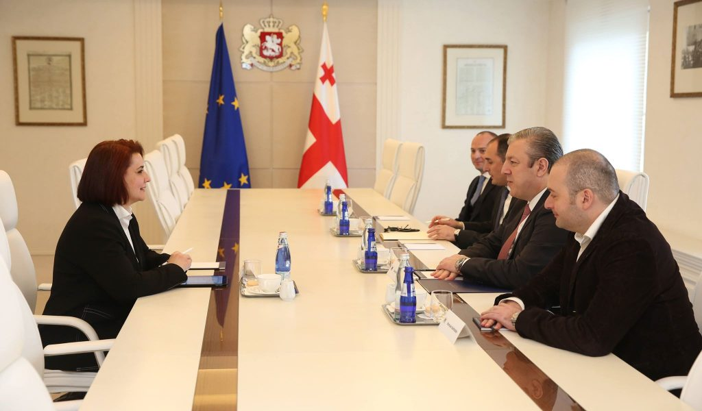 Георгий Квирикашвили - Правительство Грузии приветствует позитивную динамику сотрудничества с Азиатским банком развития