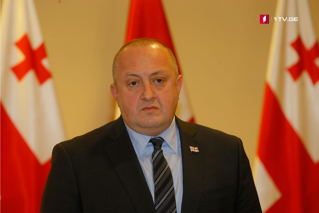 Giorgi Margvelashvili: We already have a technical part of MAP, only political part is left