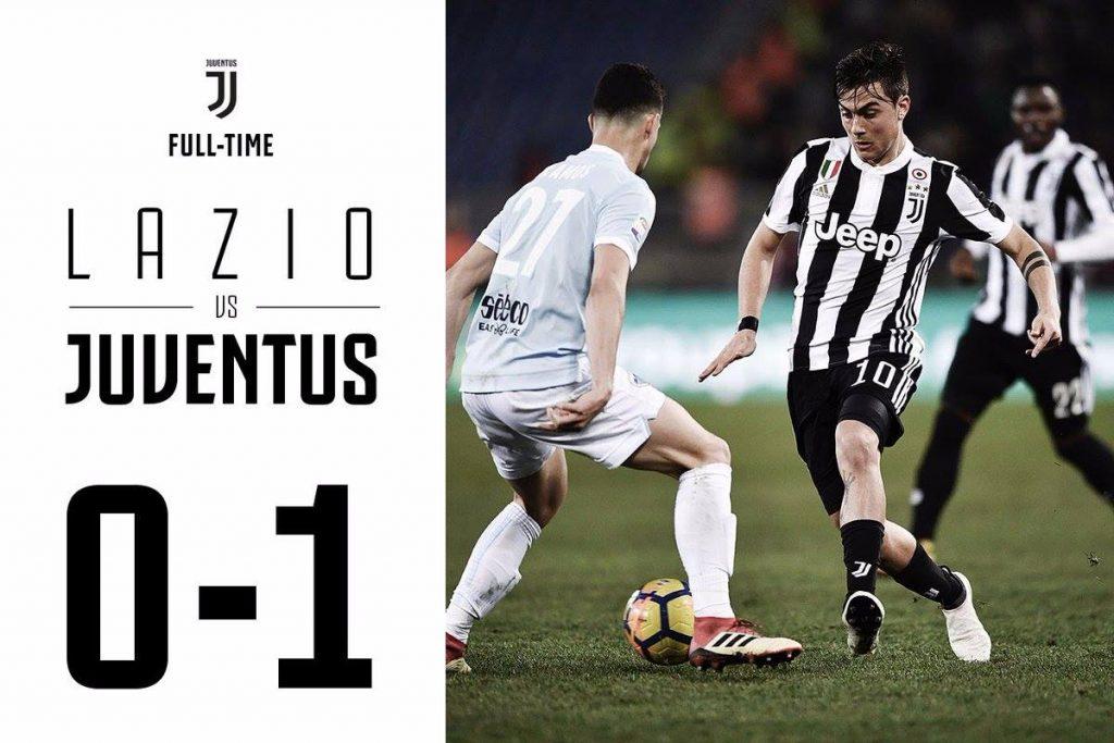 Супер гол Дибала принес «Ювентусу» победу над «Лацио» (видео)