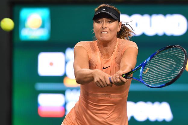 Шарапова проиграла Осаке в первом круге турнира в Индиан-Уэллсе