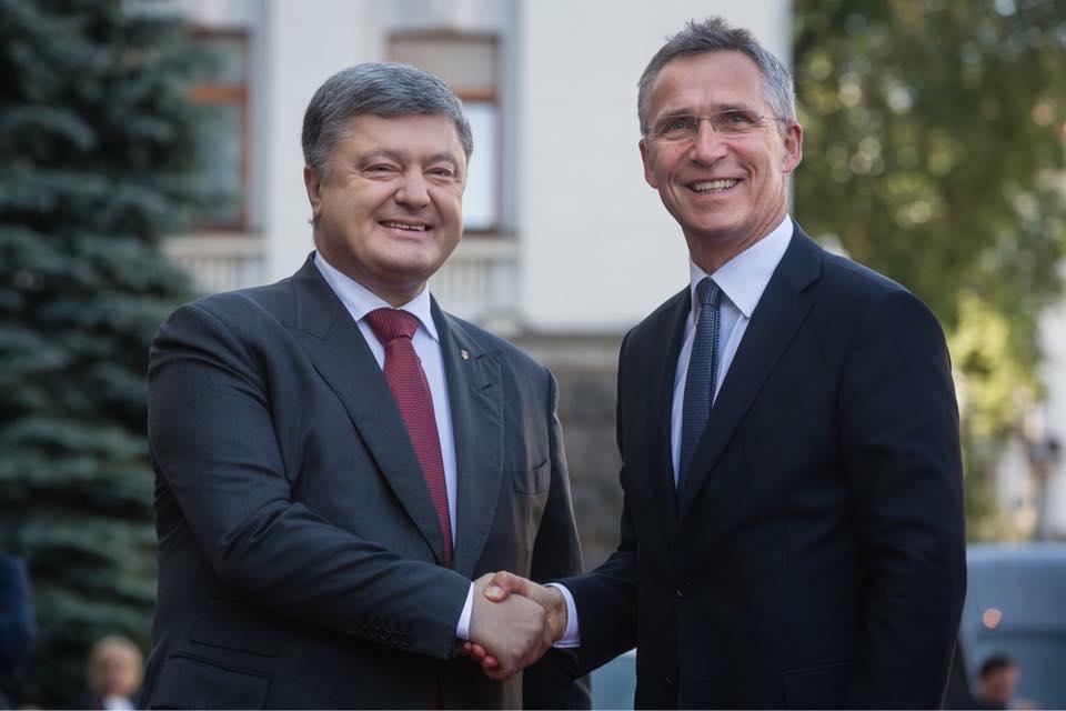Петр Порошенко - Наша следующая амбиция – план действий по членству Украины в НАТО (MAP)