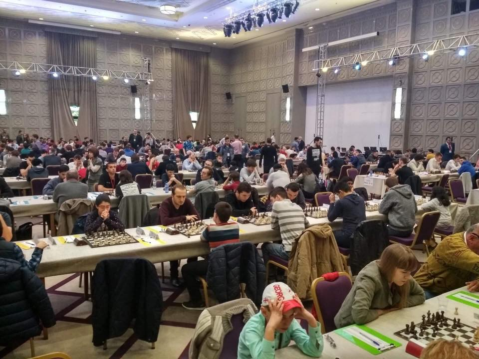 ბათუმი ჭადრაკში ვაჟთა შორის ევროპის რიგით მე-19 ჩემპიონატს მასპინძლობს