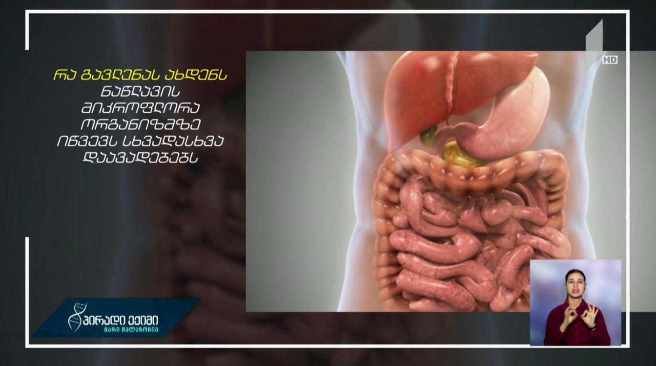 #პირადიექიმი ნაწლავის მიკროფლორა და მისი გავლენა ორგანიზმზე