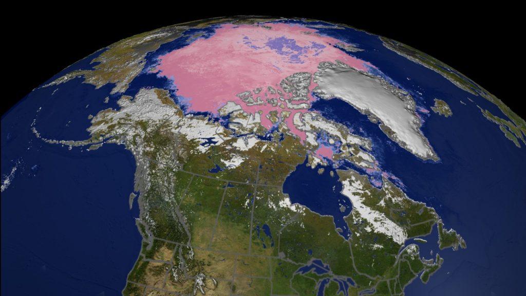 ჩრდილოეთ პოლუსზე ტემპერატურამ რეკორდულად მაღალ ნიშნულს მიაღწია