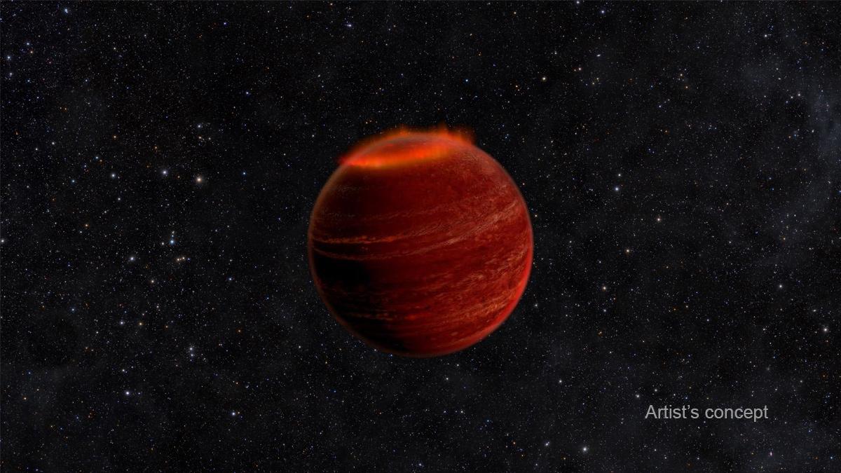 აღმოჩენილია ყავისფერი ჯუჯა ვარსკვლავის გარშემო მოძრავი გიგანტური პლანეტა
