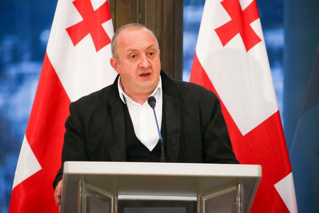 Giorgi Margvelashvili starts his visit to Brussels