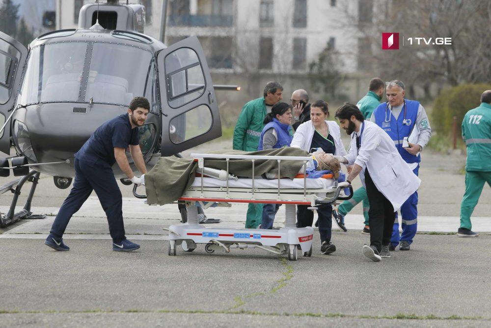 გუდაურში დაშავებულ ახალგაზრდა ქალს ღუდუშაურის კლინიკაში ოპერაცია უტარდება