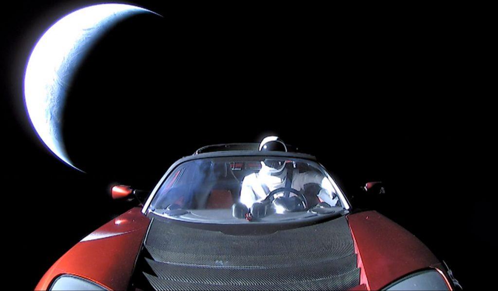 წითელმა Tesla-მ შესაძლოა, კოსმოსში დედამიწისეული ბაქტერიები წაიღო