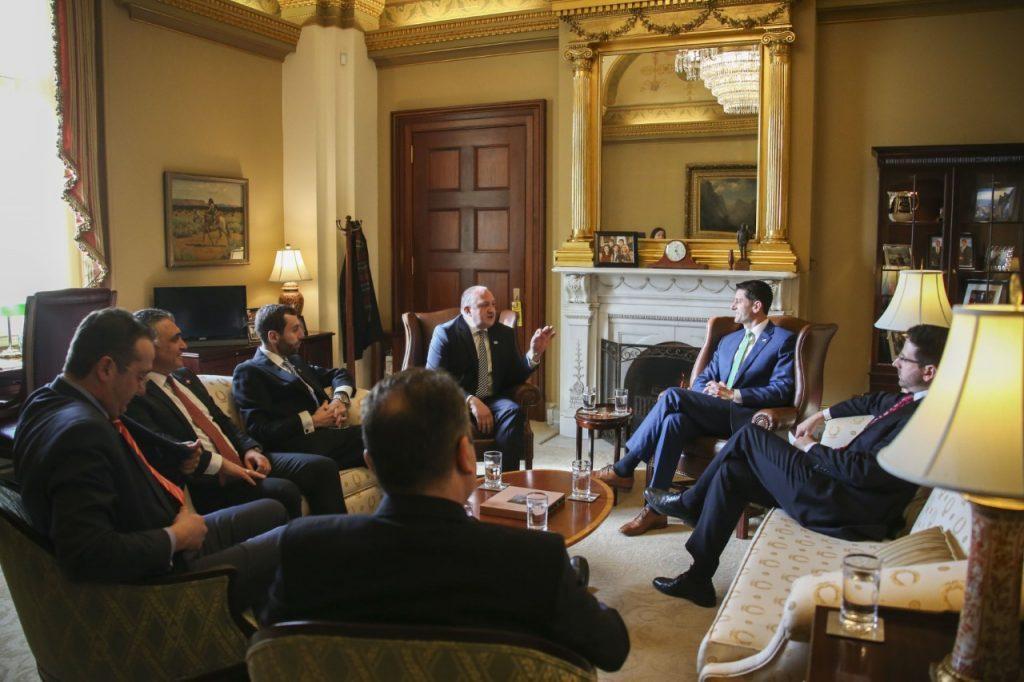 Գիորգի Մարգվելաշվիլին հանդիպումներ է անց կացնում ԱՄՆ-ի կոնգրեսում