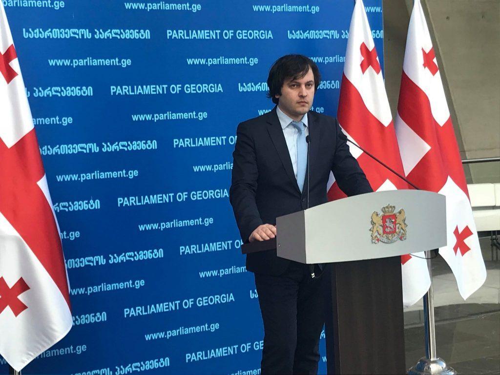 """Ираклий Кобахидзе - Уверен, что каждый член """"Грузинской мечты"""" приветствует появление Бидзины Иванишвили в политических процессах"""