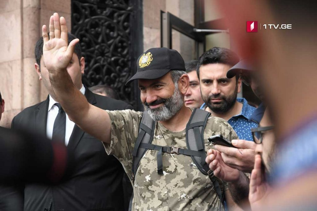 Nikol Pashinyan is the only candidate nominated to the post of Prime Minister of Armenia