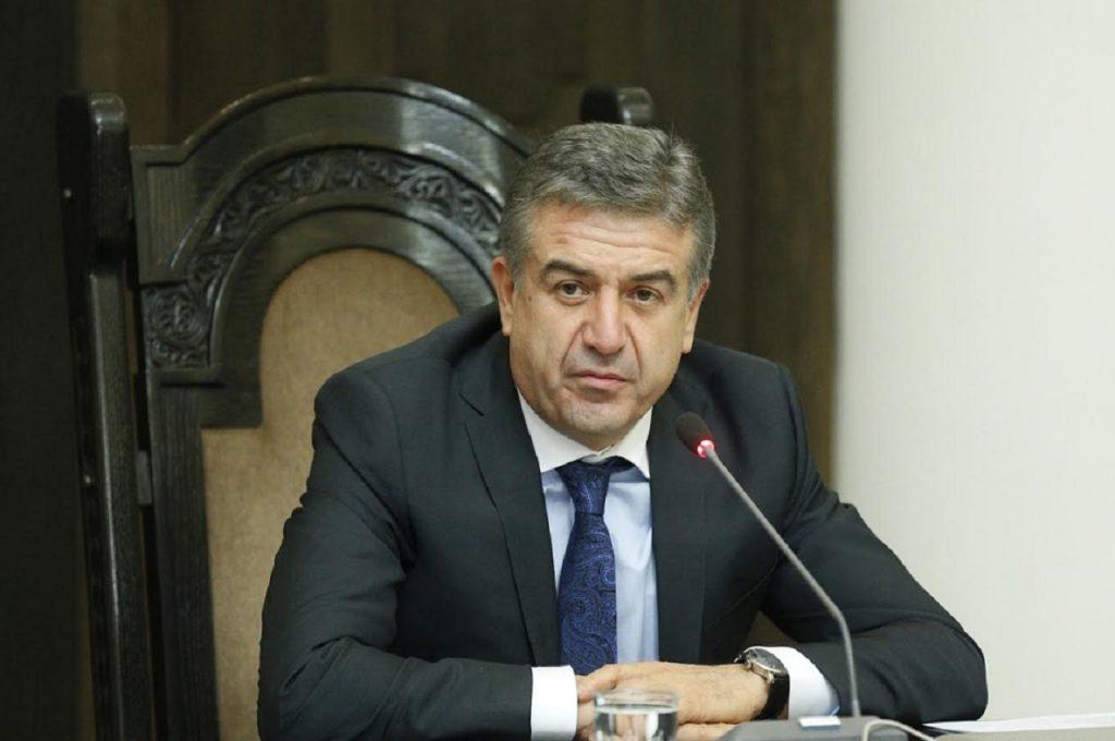 გავრცელებული ინფორმაციით, სომხეთის პრემიერ-მინისტრის მოვალეობის შემსრულებელმა თანამდებობა დატოვა
