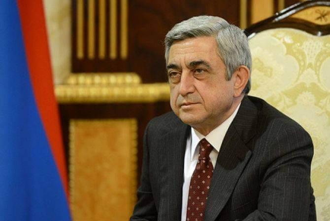 Кандидатура Сержа Саргсяна предложена на пост премьер-министра Армении