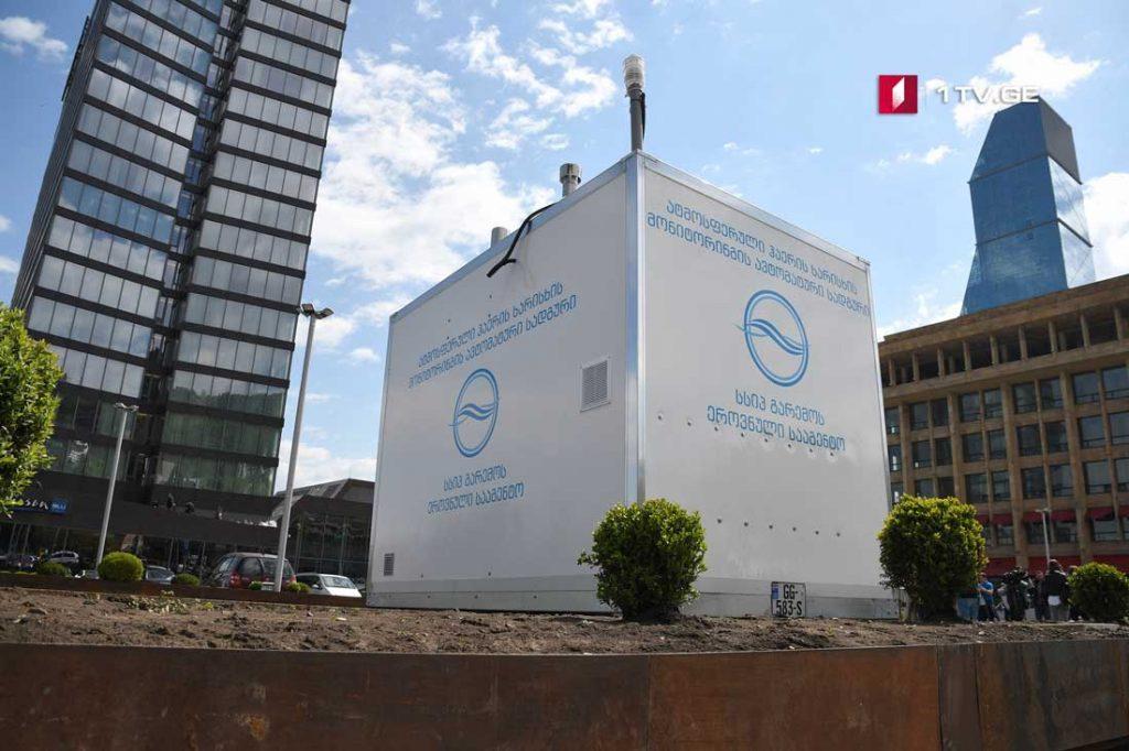 По информации Национального агентства окружающей среды, качество воздуха на площади Роз соответствует норме [фото]