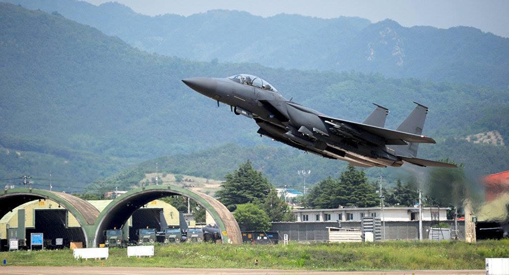 სამხრეთ კორეაში სამხედრო თვითმფრინავი ჩამოვარდა