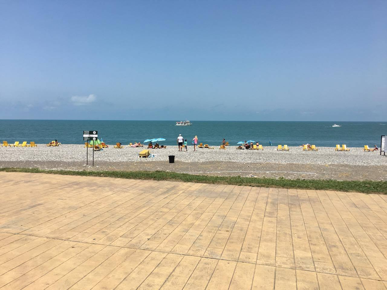 ბათუმის სანაპიროზე შშმ პირთათვის ზღვაში ჩასასვლელი ადაპტირებული ბილიკები მოეწყობა