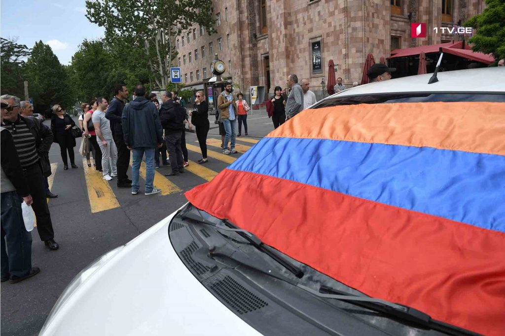 Actions of civil disobedience have been resumed in Armenia