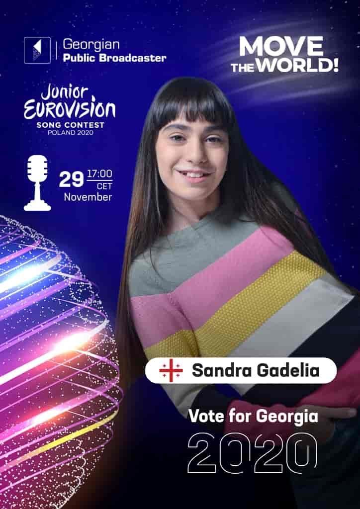 Junior Eurovision 2020 – Vote for Georgia